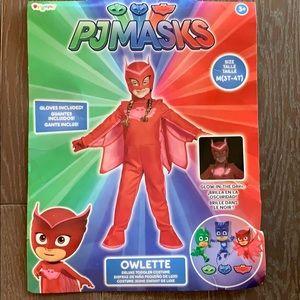 PJ Masks Owlet Toddler Costume 3T-4T.